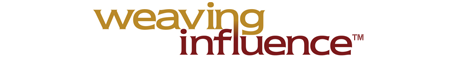Weaving Influence Logo