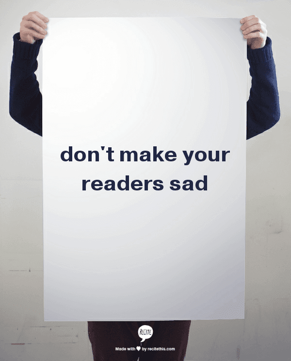 Is Your Article Making People Sad? post image