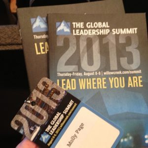 The Global Leadership Summit From a Social Point of View