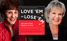 Featured on Friday: Beverly Kaye & Sharon Jordan-Evans post image