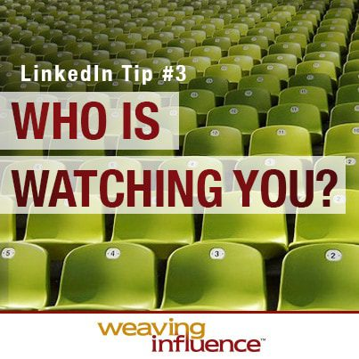 Training for LinkedIn Success: Who Is Watching You? post image