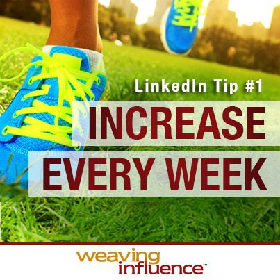 Training for LinkedIn Success: Increase Every Week post image